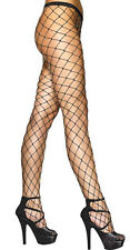 New Womens Ladies Whale  Diamond Fishnet Tights , Black ,Red,White ,Sizes S-XL