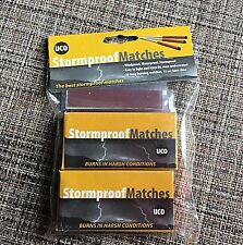 UCO Stormproof Matches 2 Boxes total 50 matches by Industrial Revolution