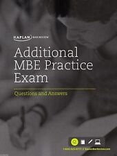 Kaplan PMBR Bar Review Additional MBE Practice Exam 200 Questions & Answers NEW