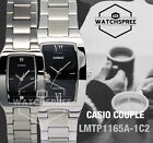 Casio Couple Watch LTP1165A-1C2 MTP1165A-1C2