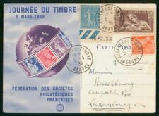 Mayfairstamps France 1939 Beaune Earth Stamps Card wwm_96865