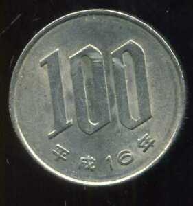JAPON  100 yen  ( 16 )  2004  ( bis )