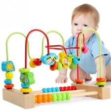 Kids Children's Educational Toys Around Animal Beads Wooden Material