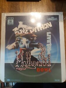 MONTY PYTHON LIVE AT THE BOWL  CED VIDEODISC (1983) USA STILL SEALED