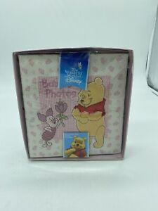 Disney Baby Winnie the Pooh & Piglet 4x6 Baby girl Photo Album Holds 196 Photos