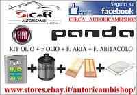 KIT TAGLIANDO FIAT PANDA (169) 1.3 MJET SELENIA WR 5-W40 F.ARIA, OLIO, ABITACOLO