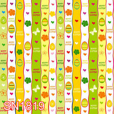 Easter Wallpaper 10x10 FT CP PHOTO SCENIC BACKGROUND BACKDROP SN1819