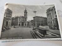 Carte Postale Période Varese Piazza Monte Grappa Shipped 1955