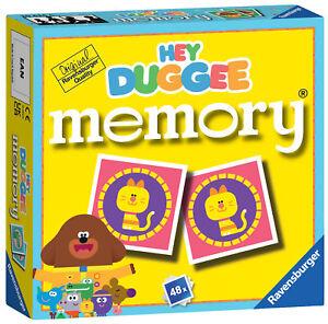 20634 Ravensburger Hey Duggee Mini Memory Snap Matching Game Children Age 3yrs+