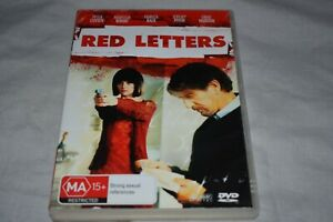 Red Letters - Peter Coyote - VGC - DVD - Rare R4