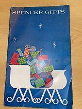 Vintage 1965 Spencer Gifts Catalog