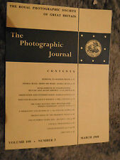 The Photographic Journal Vol 108 No 3 March 1968