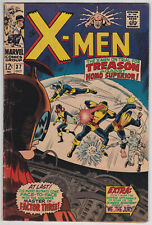 X-Men #37 VG 4.0 Cyclops Angel Beast Iceman Marvel Girl Factor Three!