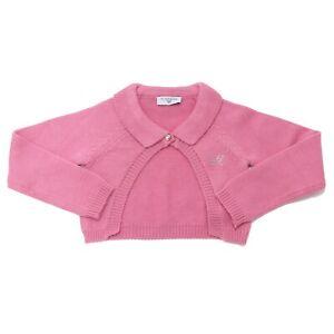 8125AD cardigan bimba girl MONNALISA pink sweater kids