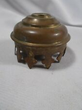 """Vintage Gas Oil, or Electric Brass Gallery For 2&1/8"""" Glass Chimney or Smokebell"""