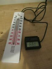EXO-TERRA Reptile Thermometer & Regular Thermometer - Vivarium
