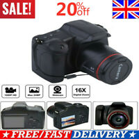Ultra HD Digital Camera Vlogging Video Camera SLR Camera 2.4 Inch 16x Zoom-1080P