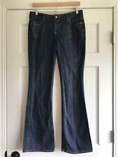 Sacred Blue Dark Wash Denim Jeans Womens 28