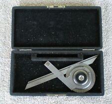 New Listingvintage Ls Starrett 364 Procision Bevel Protractor Tool With Box