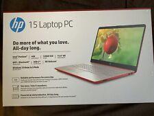"""New listing Sealed Hp 15.6"""" Hd Intel N5030 4Gb Ddr4 128Gb Ssd Webcam Scarlet Red Laptop"""
