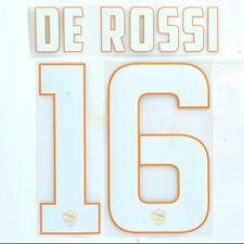 Set UFFICIALE Nome e Numero A.S. ROMA DE ROSSI 16 stagione 14/15 home