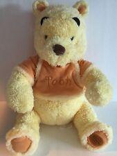 """Disney Store Winnie The Pooh Cozy Baby Fuzzy Plush 12"""" Stuffed Animal"""