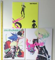C97 Promare dojin 3art book CEMETERY HILLS ccms comiket set japan trigger artist