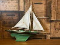 Vintage Lines Bros Ltd Triang Pond Yacht