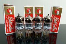 Matched Quad (4) Genalex ECC82/12AU7/B749 tubes Gold Pins - Russia