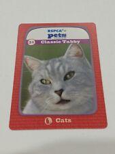 RSPCA Animal Trading Card Series 1 Feels Like Fur - #31 Classic Tabb