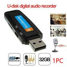 32G Voice Audio Recorder USB Flash Drive Dictaphone USB Flash Drive Sound Record