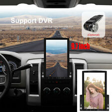 9.7 inch Vertical Screen HD 2.5D Glass Car MP5 Player Android 9.0 Practical WIFI