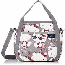 Hello Kitty LeSportsac Shoulder Bag SMALL JENNI Gray SANRIO w/ Tracking NEW
