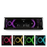 (RICONDIZIONATO) Autoradio Bluetooth Sd Usb Auna Frontalino Rimovibile Aux Rds R