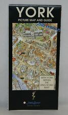 York Picture Map and Guide by James Brown - 1998