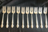 International Silver Co Brocade Sterling Silver Salad Fork. Up To 18 Available.