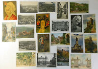 1940s Europe Postcards GERMANY & FRANCE ~ LOT of 21