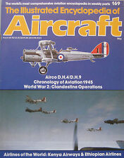 Encyclopedia of Aircraft Issue 169 Arco D.H.4 & D.H.9 cutaway drawing