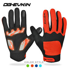 MTB Mountain Road Bike Bicycle Cycling Gloves Full Finger GEL Motorbike Gloves