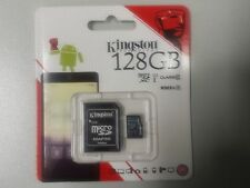 128GB Kingston MicroSDXC Card with SD Adapter (Class 10 UHS-I) 80MB/s