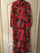 Miss Selfridge Long Red Jacket New With tags
