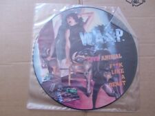 W.A.S.P.,LIVE ANIMAL/ANIMAL/D.B. BLUES picture-maxi m(-)/vg+ music for nations