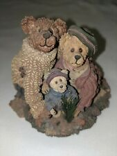 Boyds Bears Bearstone Stephanie John & George The Family Tree Figurine #228348