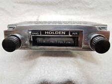 12 Volt Radio with no push-buttons suit Holden  FX & FJ, 200Watt AM/FM