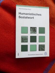 Humanistisches Sozialwort von Horst Groschopp  (Hrsg.)