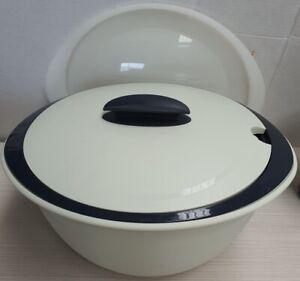 Tupperware Heat Serve N Store Insulated Serving Bowl Shape 4946A-4 3.1L c2010