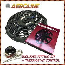 "14 "" 120W 12V Aeroline elektrisch Universal Kühler Lüfter + Thermostat"