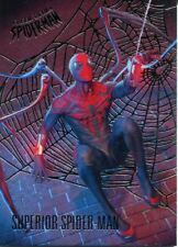 Spiderman Fleer Ultra 2017 Silver Parallel Base Card #67 Superior Spider-Man