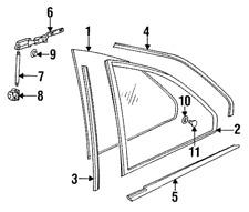 interior trims for bmw 318is for sale ebay 1997 BMW Z3 Replacement Engine genuine bmw window molding 51368119963