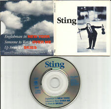 The Police STING Englishman in New York 2 UNRELEASED MINI 3 INCH CD single CD3